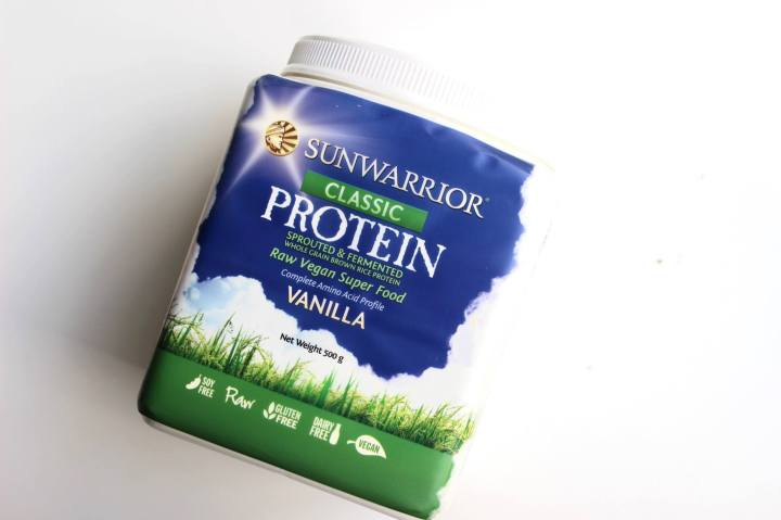 REVIEW: Sunwarrior Vegan Vanilla Protein